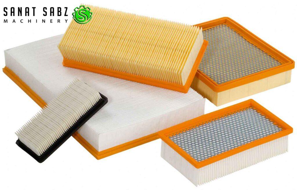 انواع کاغذ فیلتر هوا-www.sanatgaransabz.com